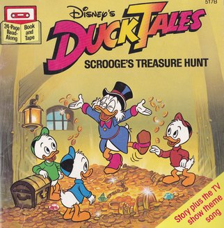 DuckTales Scrooge039s Treause Hunt Book Cover