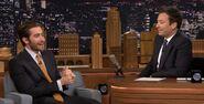 Jake Gyllenhaal visits Jimmy Fallon