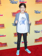 Joshua Rush at Lion Guard premiere