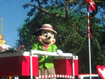 MinnieMouseinAnimalKingdomParade