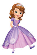 Pretty Princess Sofia In New Dress