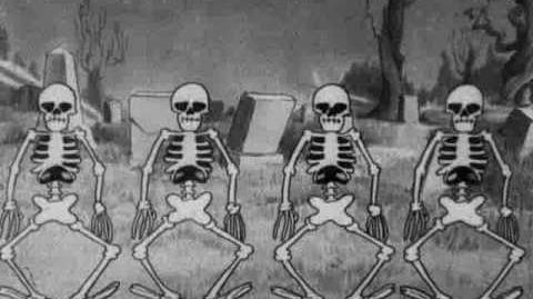 Silly symphony - the skeleton dance 1929
