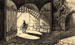 Snow White Prince Enters Castle