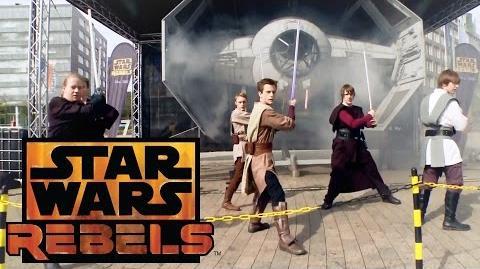 Star Wars Rebels - Große Deutschlandpremiere in Köln HD Disney XD