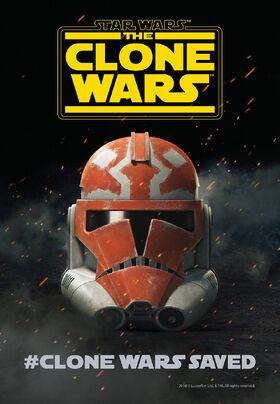 TCW Clone Wars Saved poster
