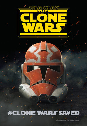 TCW Clone Wars Saved poster