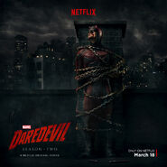 Tied Up Daredevil Season 2 Poster