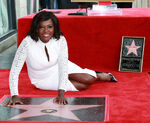 Viola Davis Hollywood Walk of Fame