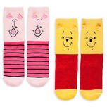 Winnie the Pooh and Piglet Sock Set for Women - 2-Pack