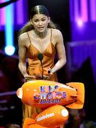Zendaya Blimp Award at Nick KCA