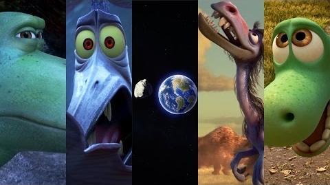 """""""The Asteroid"""" Sneak Peek - The Good Dinosaur"""