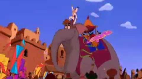 Aladdin - (Príncipe Ali) - Português BR
