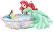Ariel in green 06