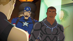 Captain America and Black Panther AUR 09