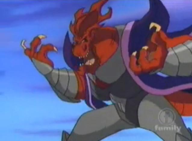 Вождь Властозавров -Саурян, Лорд Драконус