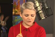 Ginnifer Goodwin behind the scenes Zootopia