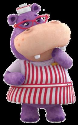 Hallie The Hippo