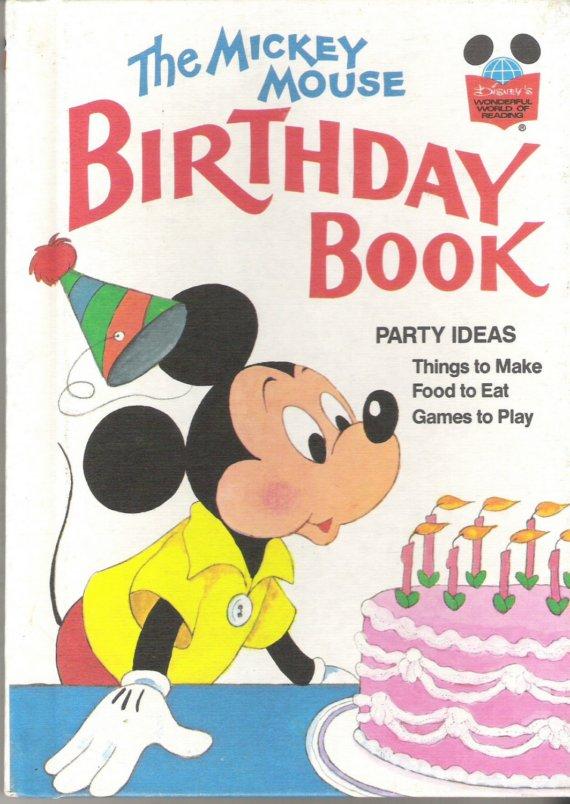 the mickey mouse birthday book disney wiki fandom powered by wikia