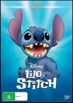 Lilo & Stitch 2016 AUS DVD