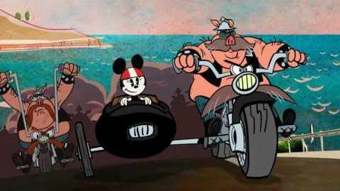 Mickey Mouse Motorbende Disney NL