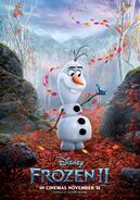 Olaf and Bruni International Frozen II Poster