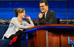 Sally Field visits Stephen Colbert