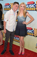 Spencer and Peyton List Radio Disney Music Awards