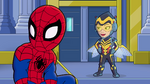 Spider-Man and Wasp in Marvel Super Hero Adventures