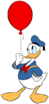 Donald-duck-balloon
