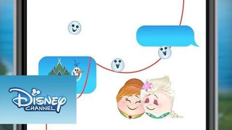 Febre Congelante versão Emoji Oh my Disney