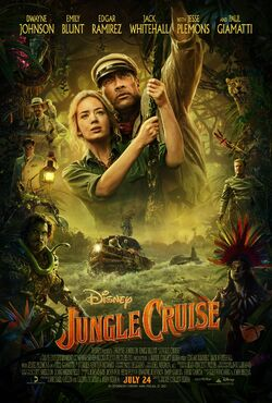 Jungle Cruise poster (2)