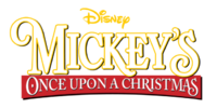 Mickey's Once Upon a Christmas Logo
