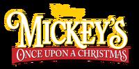 Mickey's Once Upon a Christmas Logo