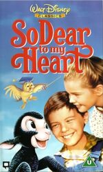 So Dear To My Heart (2000 UK VHS)