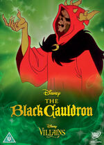 The Black Cauldron Disney Villains 2014 UK DVD