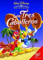 The Three Caballeros 2002 Spain DVD