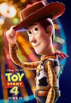 Toy Story 4 character poster - Woody