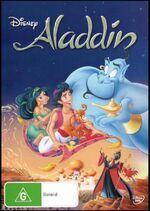 Aladdin 2013 AUS DVD