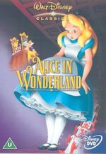 Alice in Wonderland 2002 UK DVD