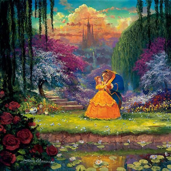 Beauty And The Beast James Coleman Paintingjpeg