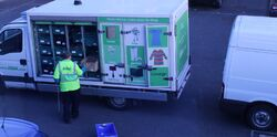 Buzz on ASDA Truck
