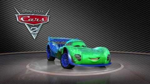 "Cars 2 Turntable ""Carla Veloso"""