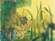 Disney's Catfish Bend - Concept Art by Ken Anderson