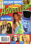 Disney Adventures Magazine cover December January 2004 Holiday Movies