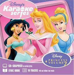 Disney karaoke series disney princess volume 2