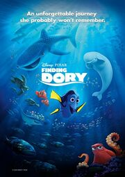 Finding Dory Promotional Poster