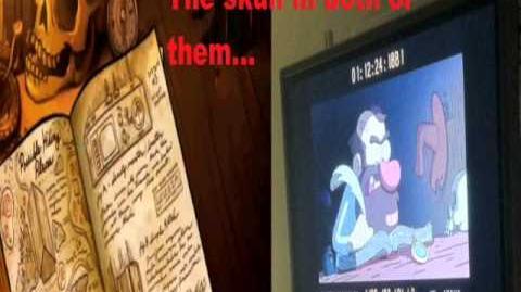 "Gravity Falls ""Gideon Rises"" The Masked Man Revealed ORIGINAL"