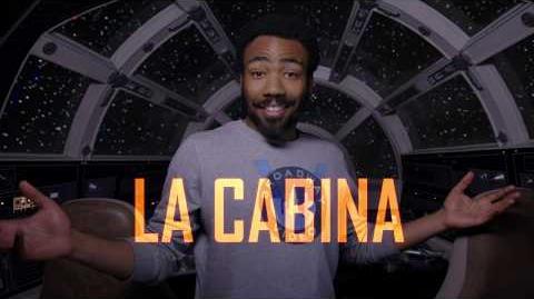 Han Solo una historia de Star Wars, de Lucasfilm – Recorrido por el Halcón Milenario