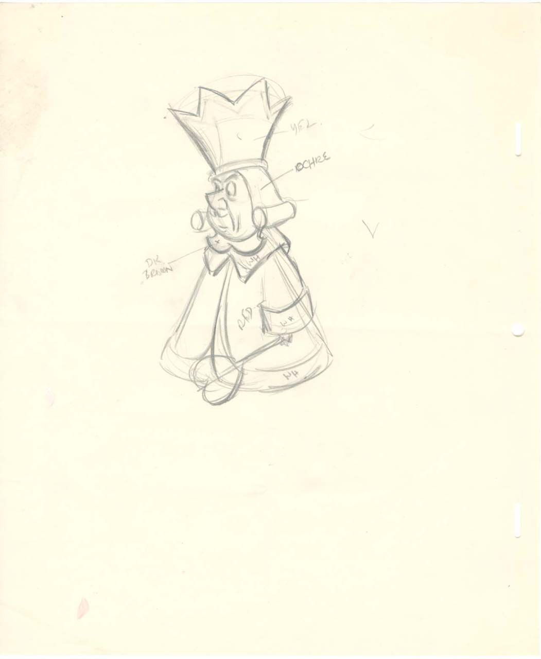 Image - King of hearts color guide drawing blog.jpg | Disney Wiki ...