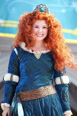 Merida crowned princess